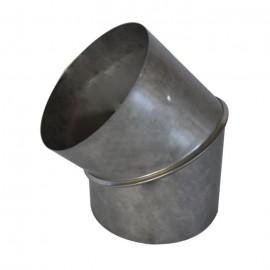 Koleno - čistící otvor 0-90° Ø150