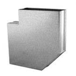 Difuzor rohový 1000/500 CP bílý