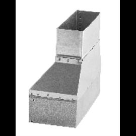 Difuzor rohový 800/500 CL bílý
